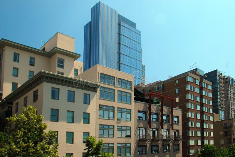 Constructions urbaines photographie stock libre de droits