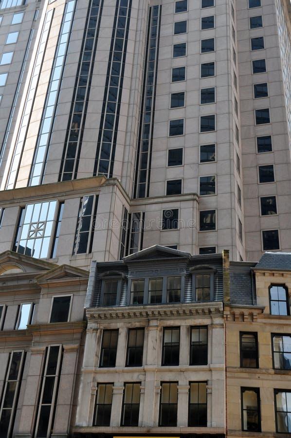 Constructions urbaines de Boston photo stock