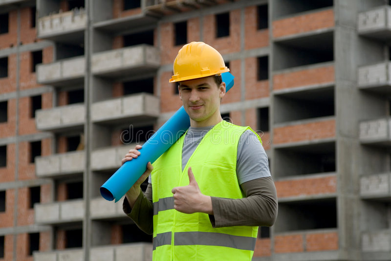 constructonarbetare fotografering för bildbyråer