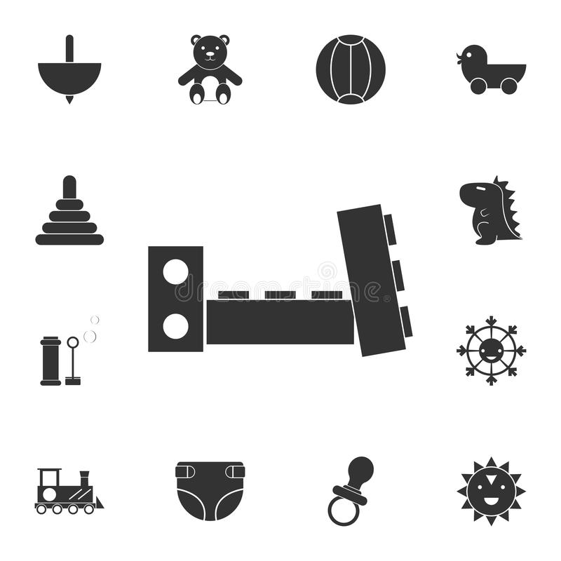 constructor icon. Detailed set of toys icon. Premium graphic design. One of the collection icons for websites, web design, mobile royalty free illustration
