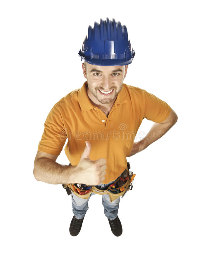 Download Constructor worker stock image. Image of contractor, carpenter - 10481169