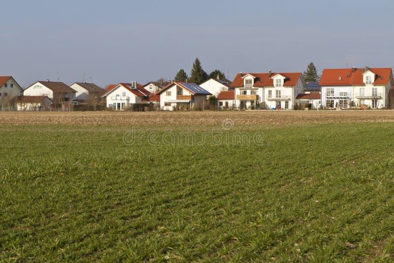 Construido nuevamente conteniendo área en Baviera meridional foto de archivo libre de regalías