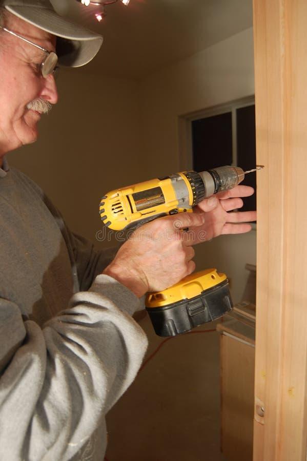 Download Construindo a casa foto de stock. Imagem de médio, potência - 544796