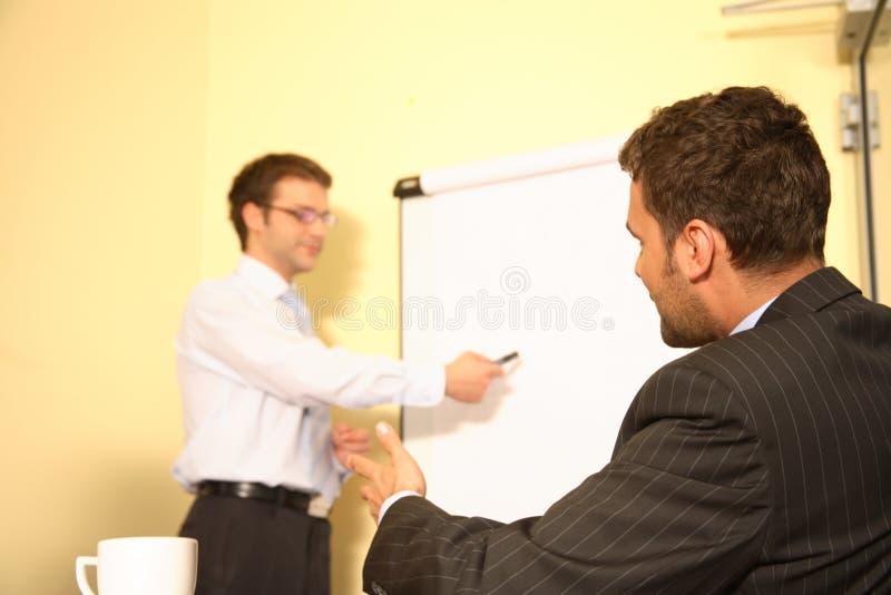 Construindo um negócio, visões do negócio fotos de stock