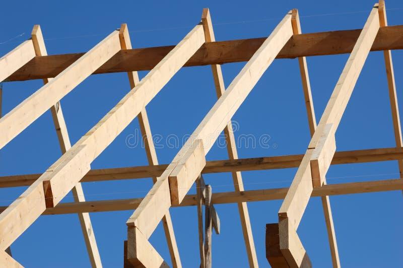 Construisez le toit photos stock
