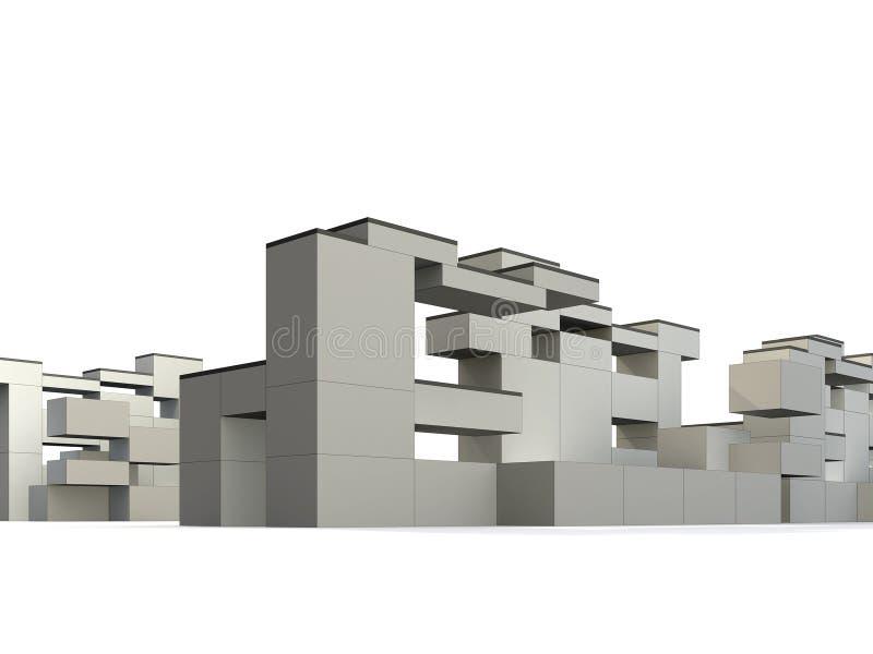 Construtivismo & Minimalism ilustração do vetor