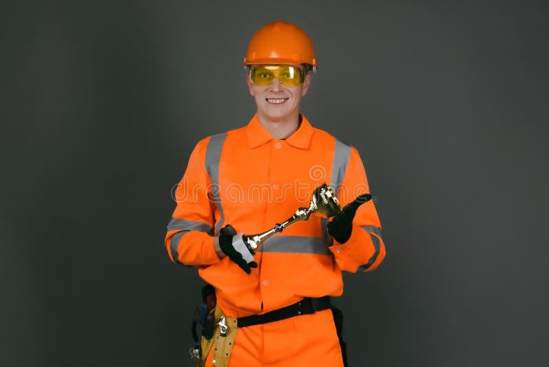 Construtor fotografia de stock