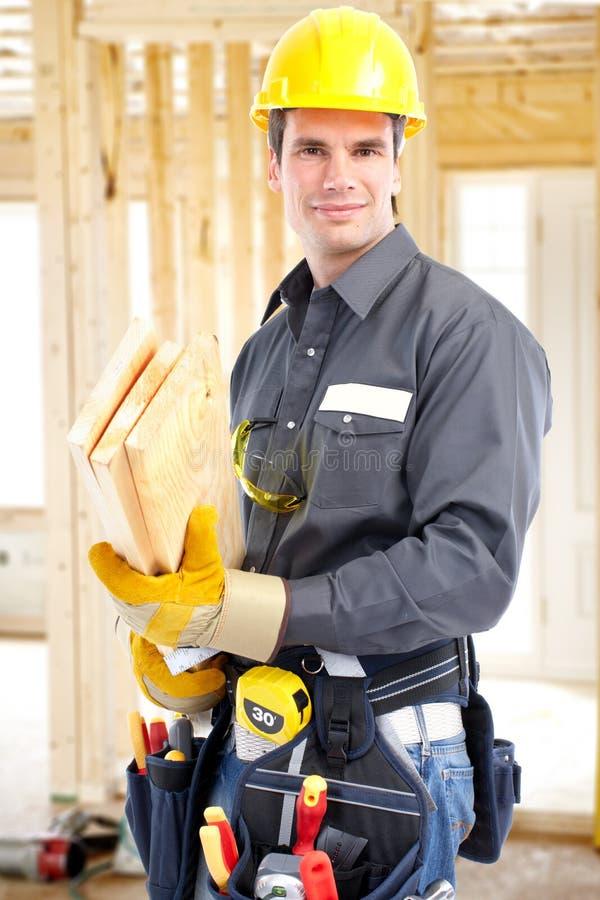 Construtor foto de stock
