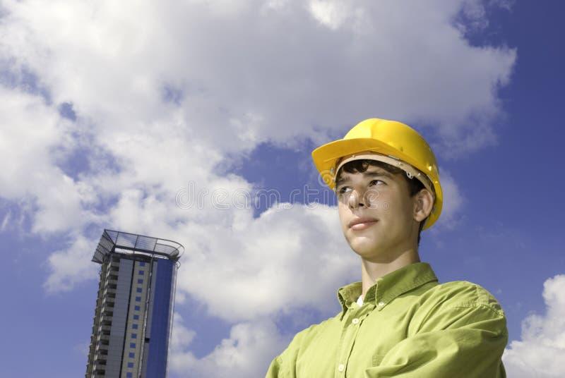 Construtor novo imagens de stock