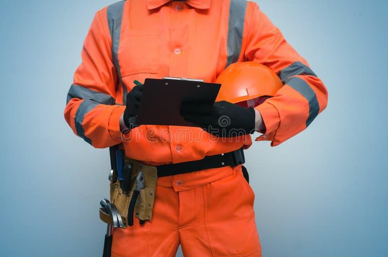 Construtor Trabalhador repairman fotografia de stock royalty free
