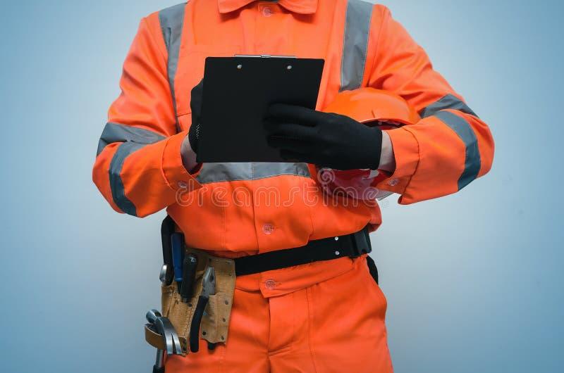 Construtor Trabalhador repairman imagens de stock royalty free