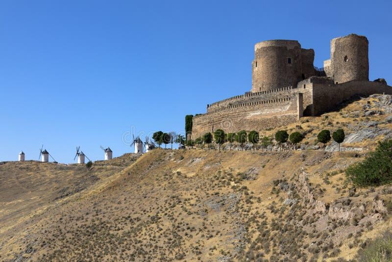 Download Consuegra Castle - La Mancha - Spain Stock Image - Image: 26927469