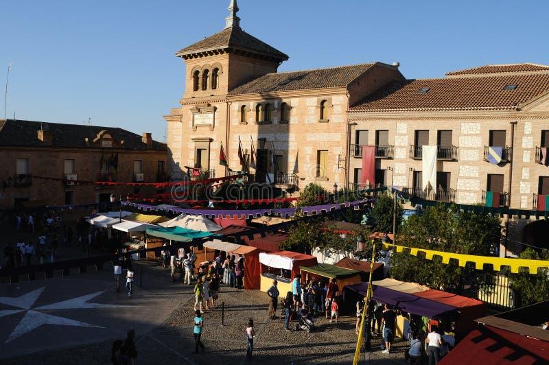 Consuegra. Spanien lizenzfreie stockfotos