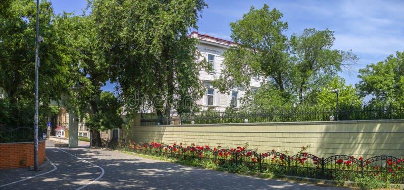 Consulado de China en Odessa, Ucrania fotografía de archivo libre de regalías