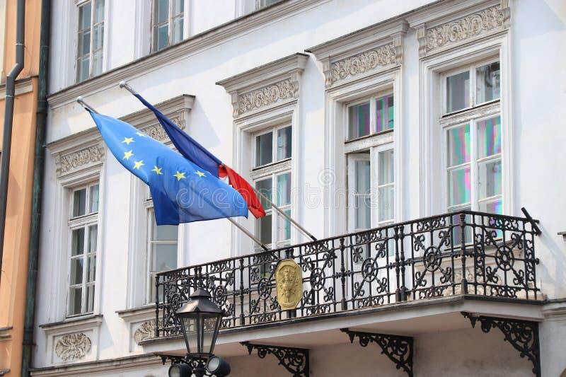 Consulado de França imagens de stock royalty free