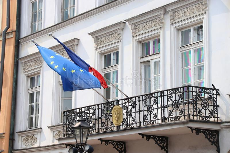 Consulado de Francia imágenes de archivo libres de regalías