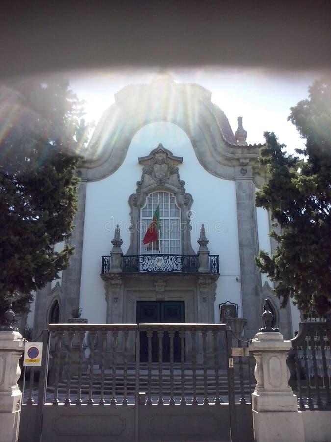 Consulado de Portugal en Sevilla imágenes de archivo libres de regalías