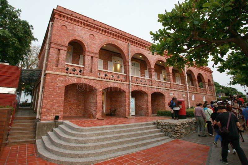 Consulado do cão de Kaohsiung imagens de stock royalty free