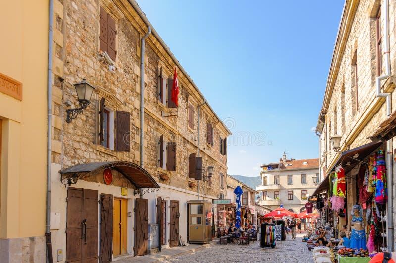 Consulado do turco de Mostar fotografia de stock