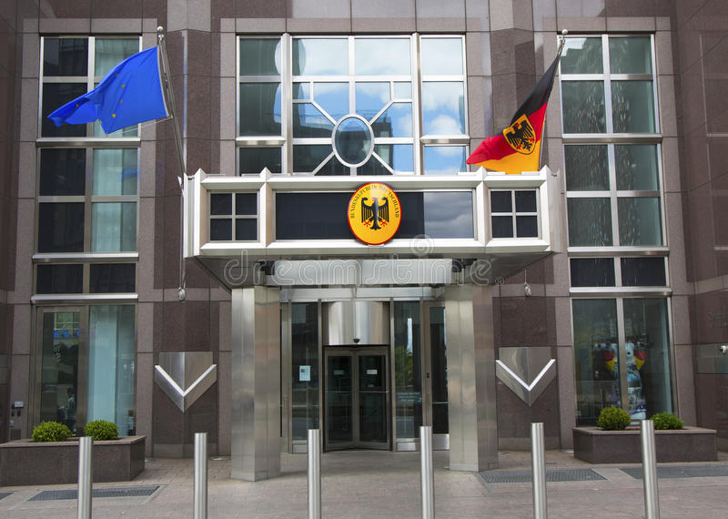 Consulado general de Alemania en Nueva York fotos de archivo libres de regalías