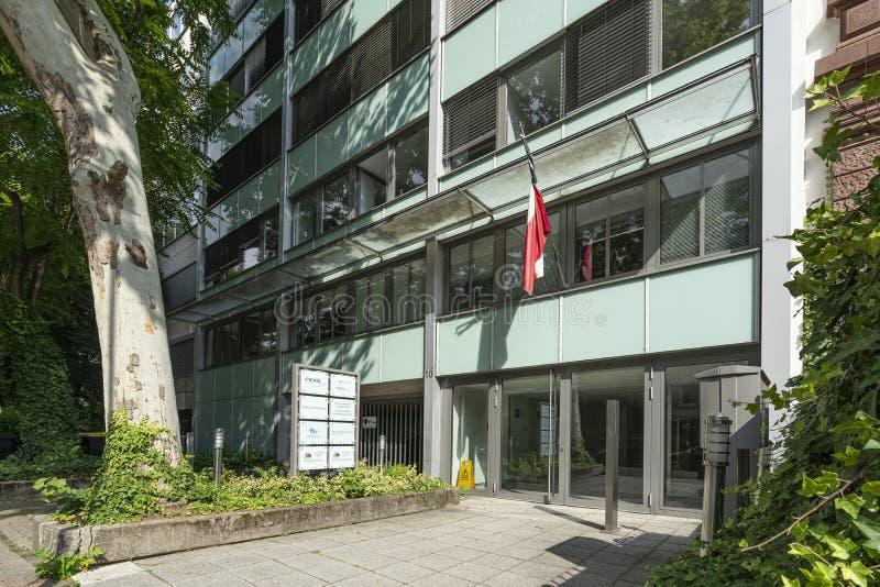 Consulado general de Chile en Francfort fotos de archivo