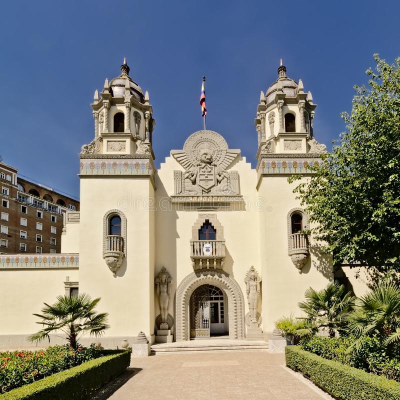 Consulado general de Colombia en Sevilla, España foto de archivo libre de regalías