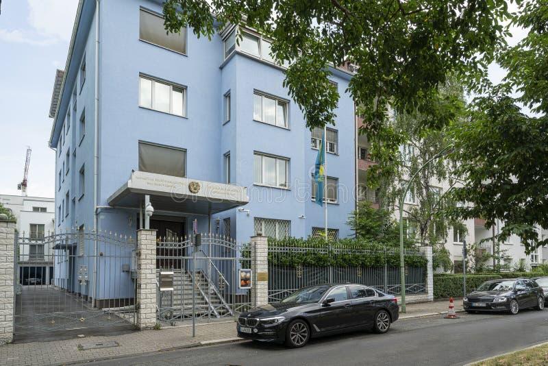 Consulado general de Kazakistan en Francfort foto de archivo libre de regalías