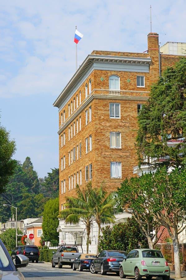 Consulado general ruso en San Francisco, los E.E.U.U. imagenes de archivo