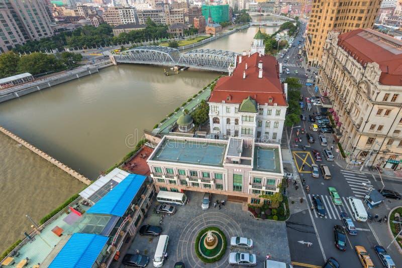 Consulado general ruso en Shangai foto de archivo libre de regalías