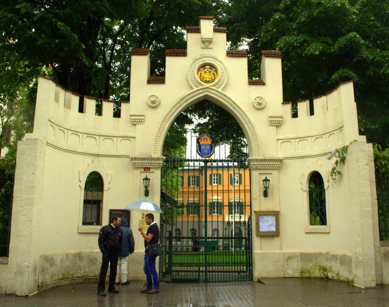 Consulado general Suecia Estambul Turquía imagenes de archivo