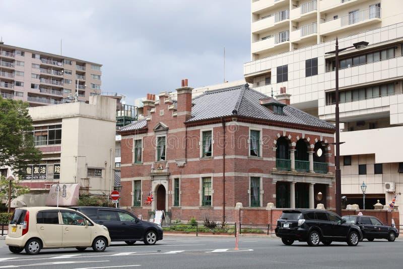 consular británico anterior en Shimonoseki fotografía de archivo libre de regalías
