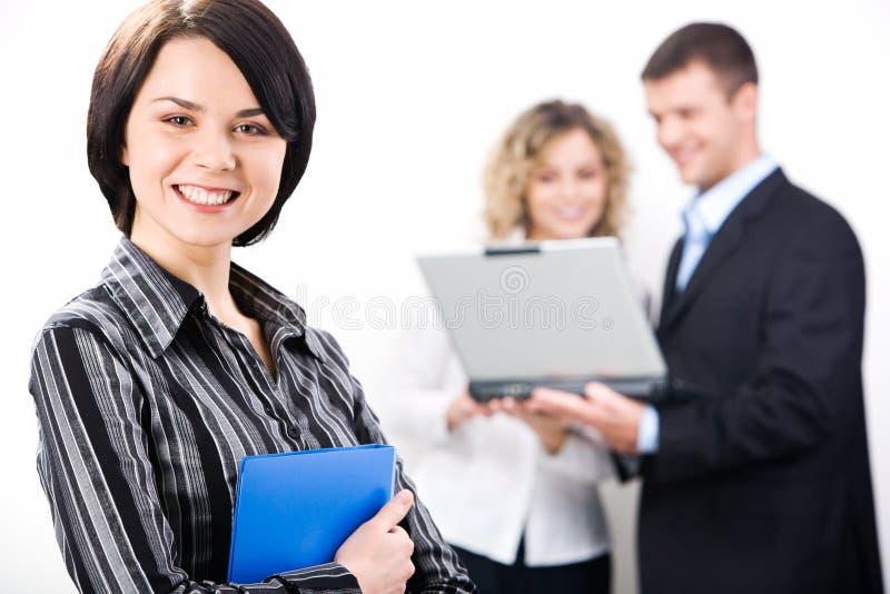 Consulente attraente fotografie stock