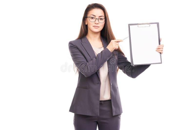 consulente finanziario immagine stock libera da diritti