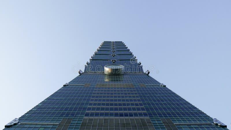 Consulta de Taipei 101 fotografia de stock