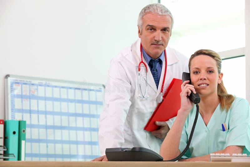 Consulta médica foto de stock
