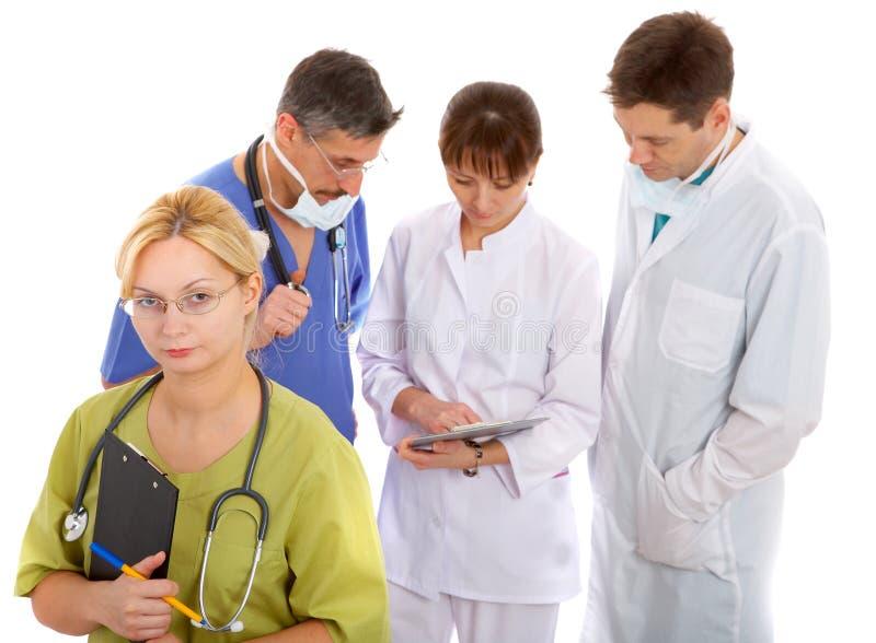 Consulta médica foto de archivo