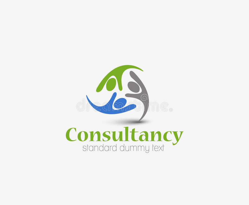Consultancy Logo stock illustration