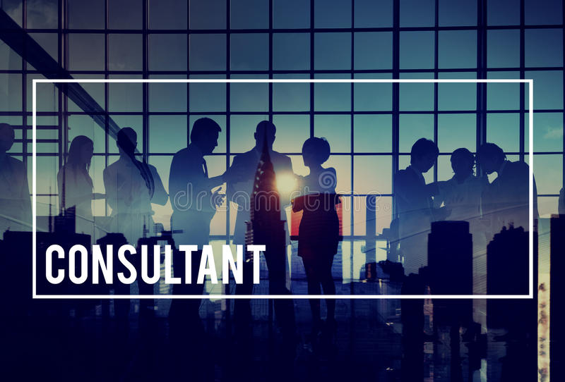 Consultant Advisor Advise Consult Consulting Concept royalty free stock image