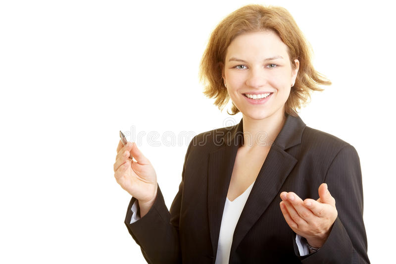 Download Consultant Delivering A Speech Stock Image - Image: 10412167