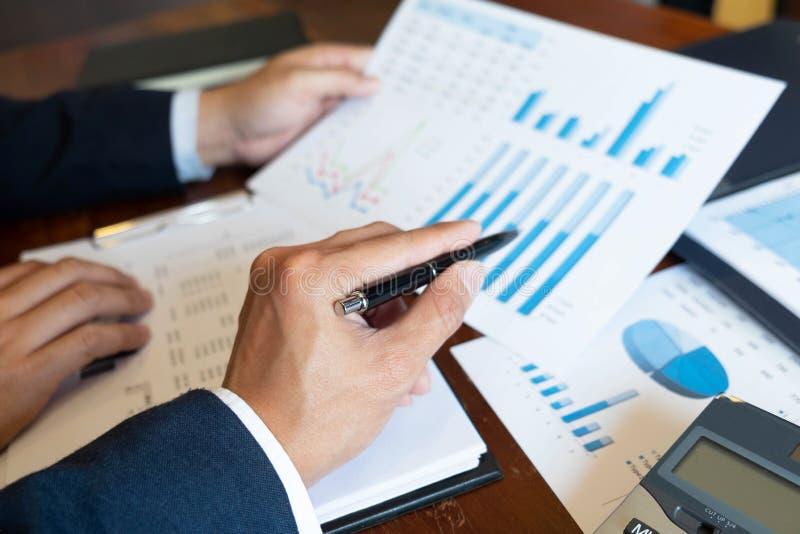 Consultant en matière de comptabilité, planification de planification de Financial Consultant Financial de conseiller commercial image stock