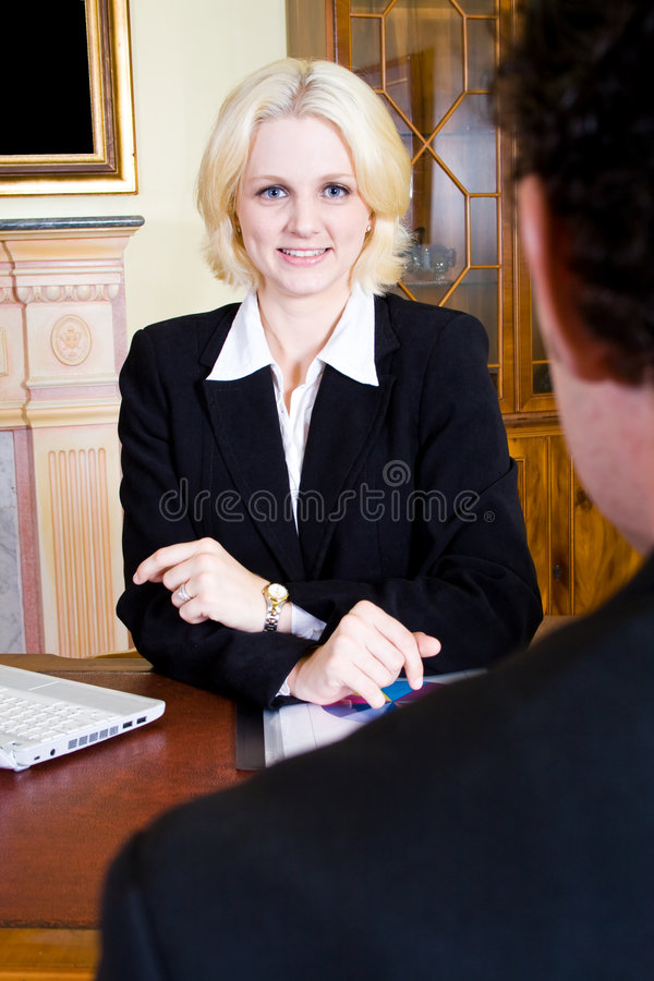 Consultante de negócio imagens de stock