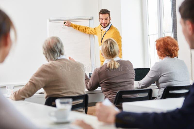 Consultat do negócio como o conferente imagem de stock royalty free