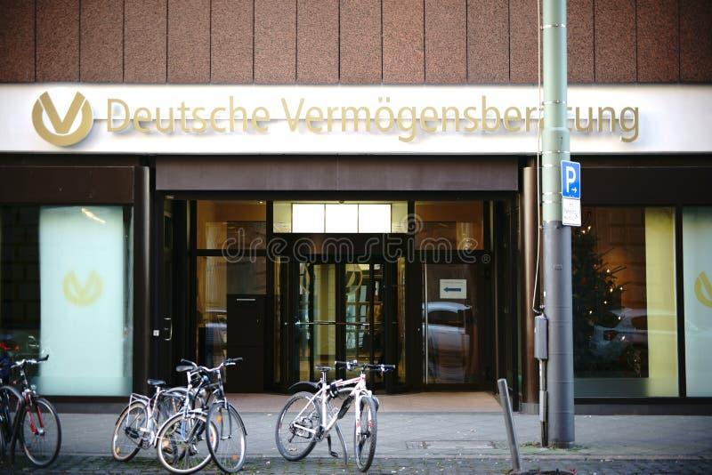 Consultation allemande d'investissement d'entrée photos libres de droits