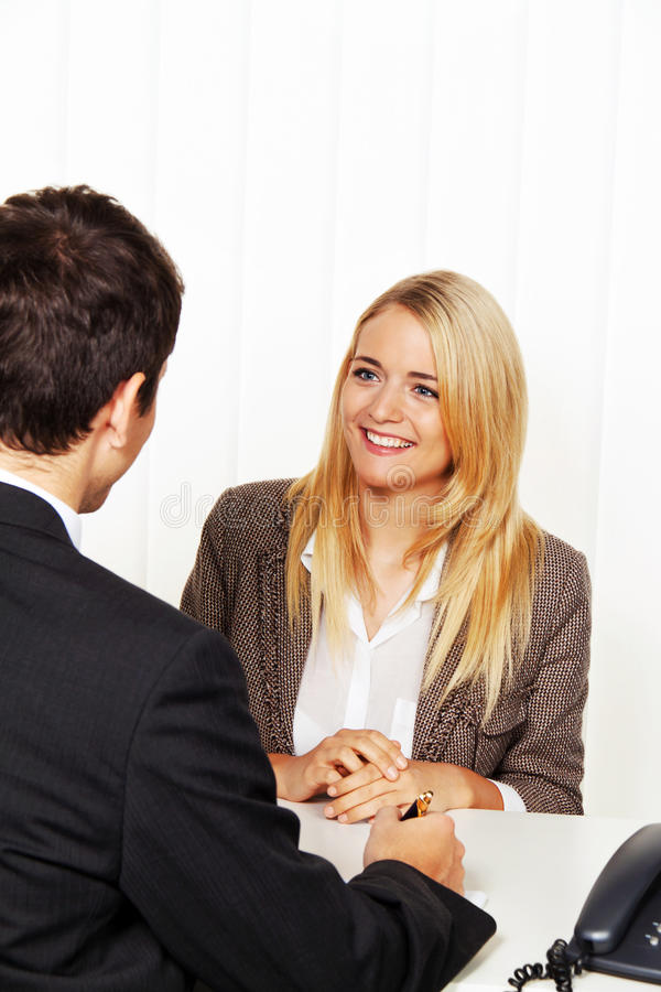 Consultation. Consultation and discussion by Ber royalty free stock images