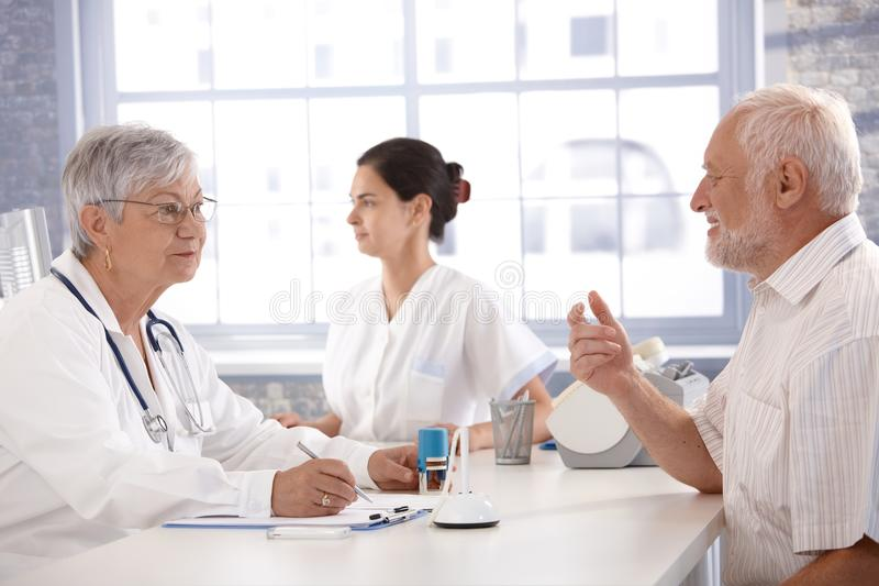 Download Consultation At Doctor's Room Stock Image - Image: 22199245