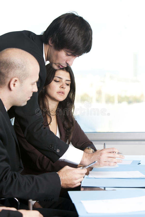 Consultation With Insurance Agent Stock Image