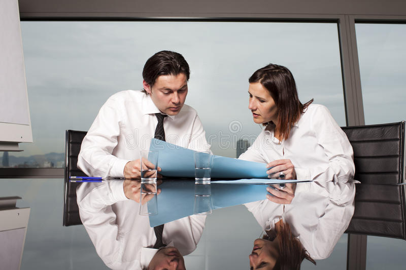 Download Consultation With Tax Adviser Stock Image - Image: 23401045