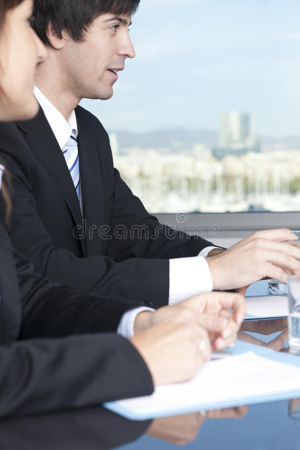 Consultation With Tax Advisers Stock Images