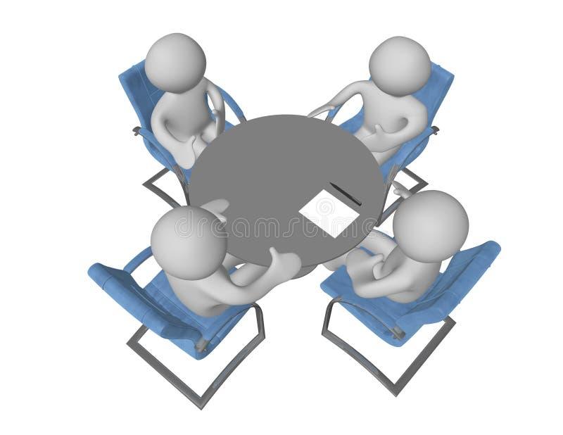 Consultations stock illustration