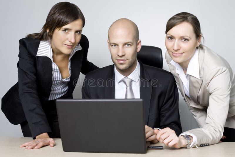 Consultazione con i Consiglieri di imposta fotografia stock